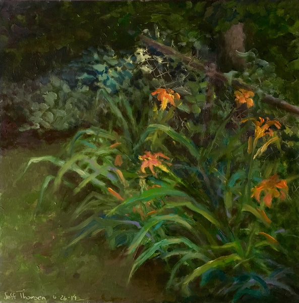 Jeff Thomsen: Day Lilies, Hot Afternoon