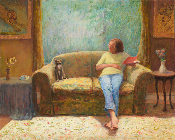 Jeff Thomsen: Two Figures on a Couch