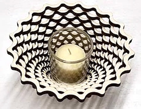 Baltic by Design Votive - Weave