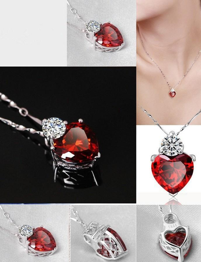Red Garnet Necklace