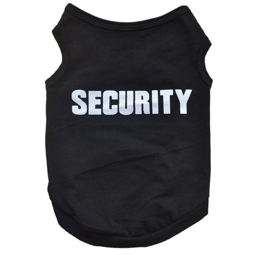 """SECURITY"" Dog-Cat Clothes"