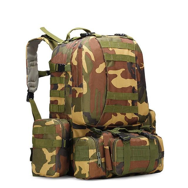 50L Tactical Outdoor Backpack
