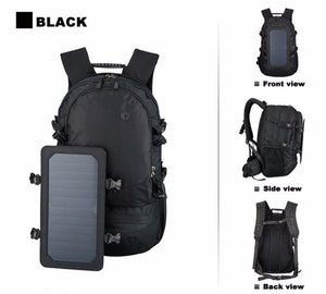 35L Solar Charger Backpack For Hiking, Camping or Hunting