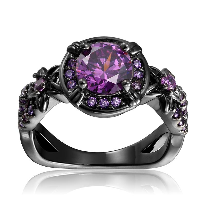 Amethyst Gemstone Ring