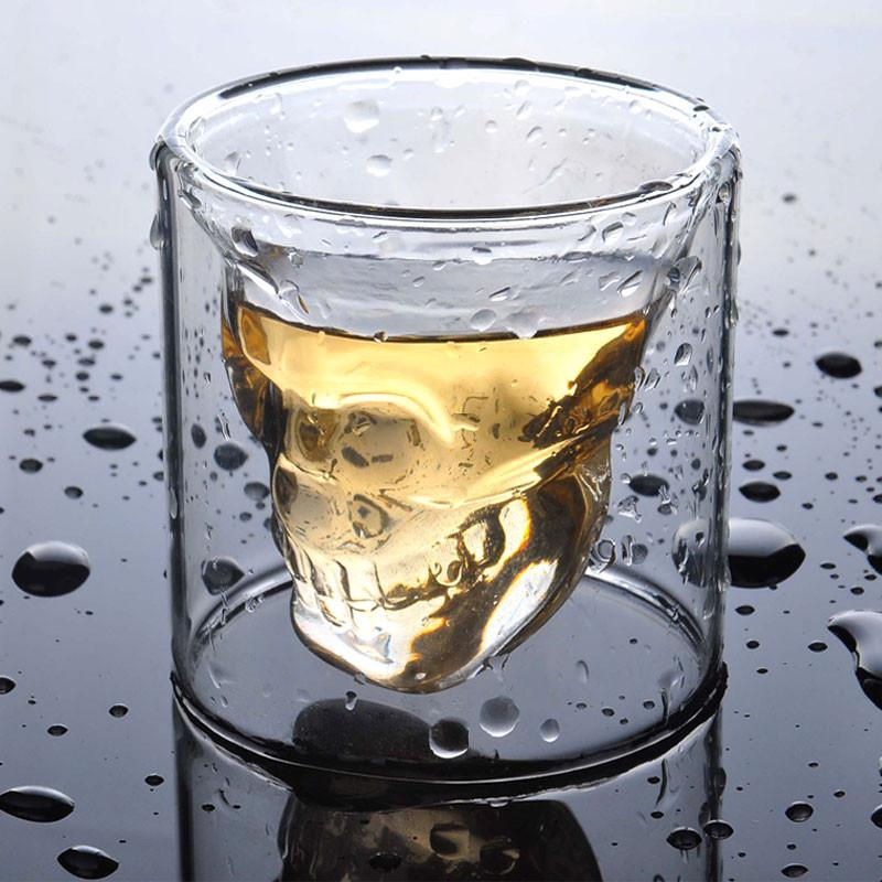 Skull Cup Double Layer