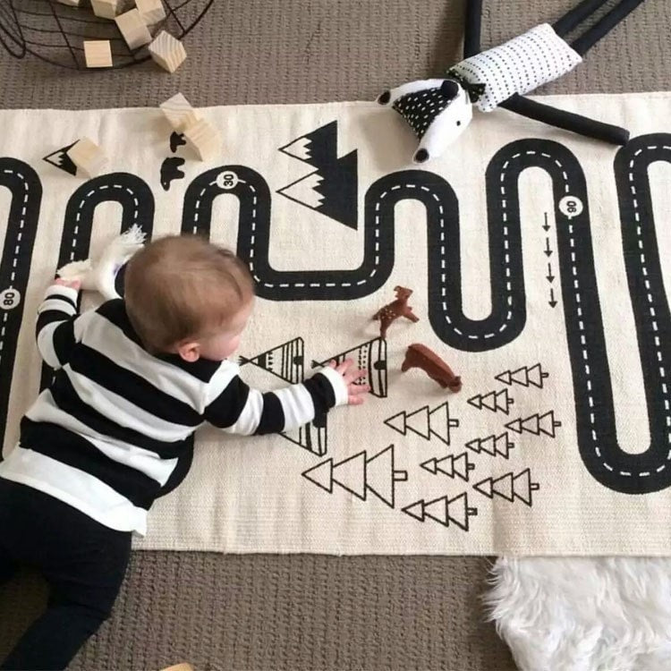 Cute Racing Baby Mat