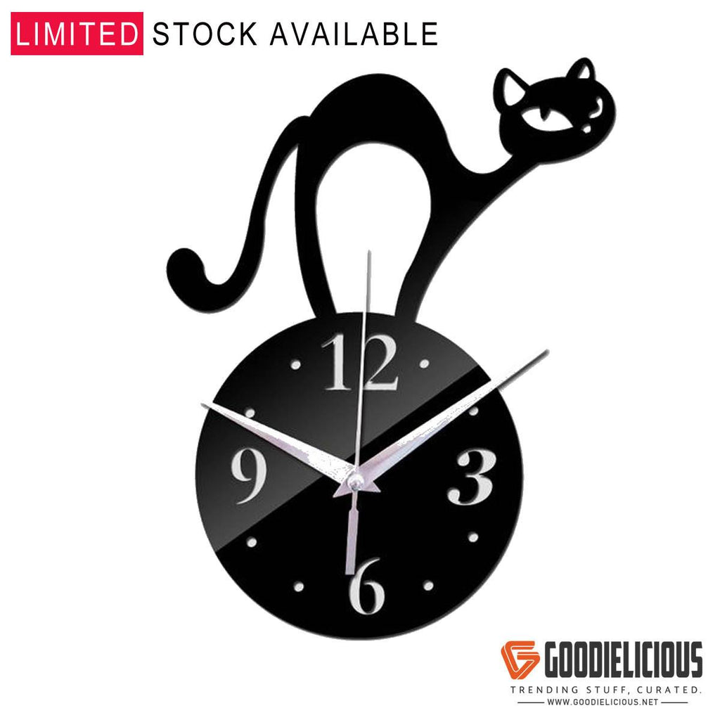 Cat Lover Decorative Wall Clock