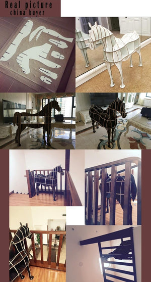 Horse Wooden Table-Diy Wood Furniture