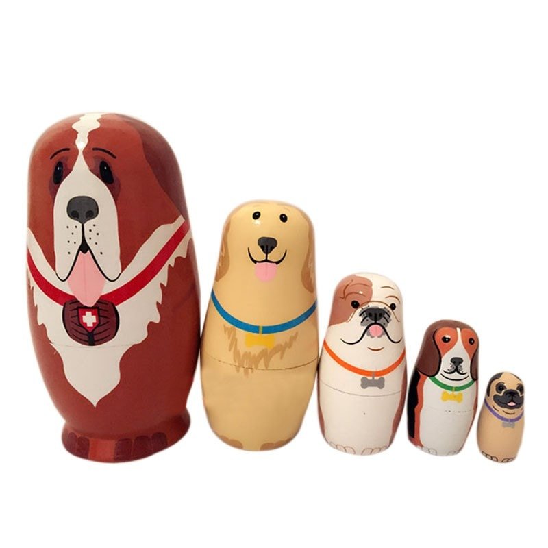 Cute Animal Matryoshka Doll