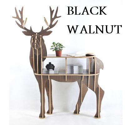 Reindeer Wooden Table - Diy Wood Furniture-L Size