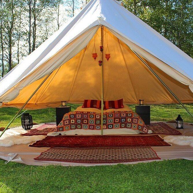 Cotton Canvas Waterproof Bell Tent