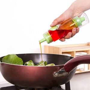 2 in 1 Cooking Olive Oil and Vinegar Pump + Sprayer Bottle