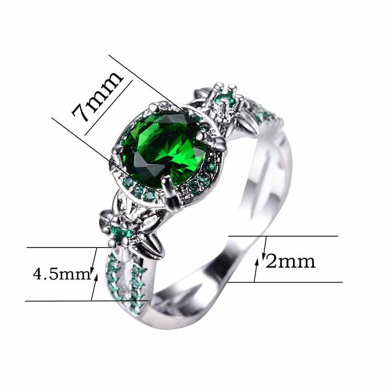 Emerald Gemstone Ring