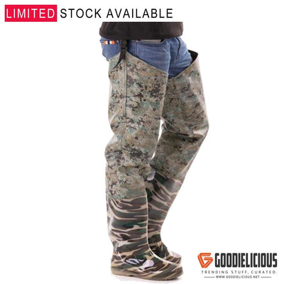 Camouflage Boot-Foot Hip Waders
