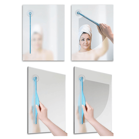 Bathroom Mirror Wiper