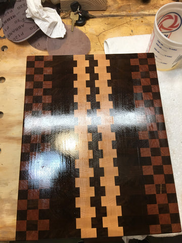 End-Grain Cutting Board 1