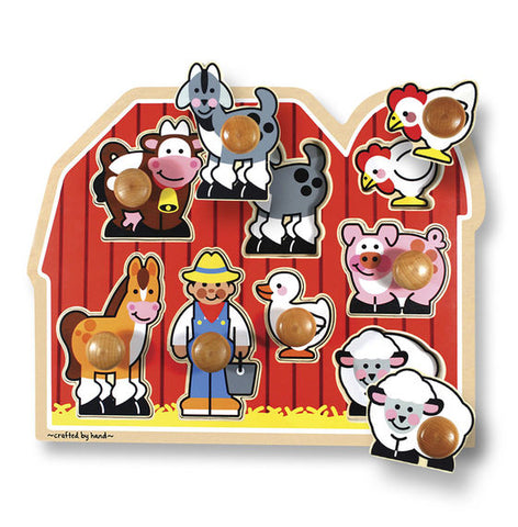 Farm Friends Large Puzzle