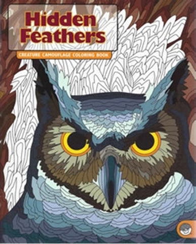 Hidden Feather - Creature Camouflage Coloring Book