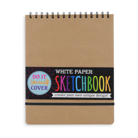White Paper Sketch Book