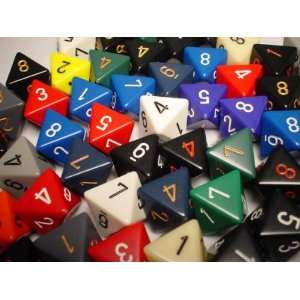 D8 Dice Assorted