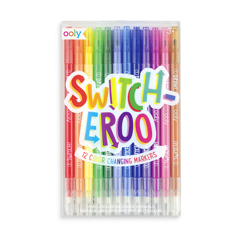 Switcheroo 12 Colour Changing Markers