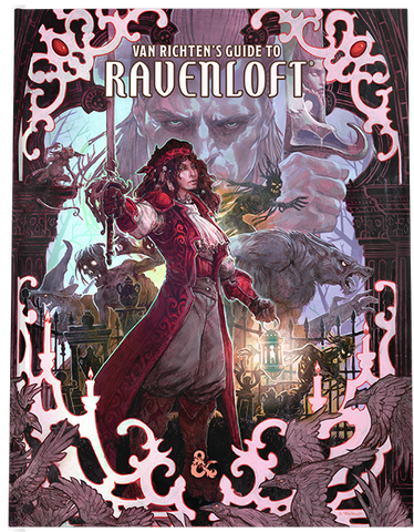 Van Ricten's Guide to Ravenloft *Collector Cover*