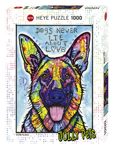 Dogs Never Lie 1000 PCS