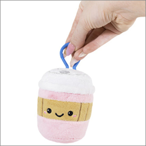 Micro Squishable-Pink Coffee Cup