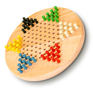"Chinese Checkers- 7"" Wooden"