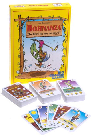 Bohnanza Bean Game