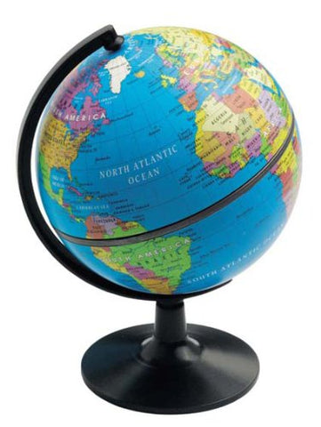 "5"" Desktop Political Globe"
