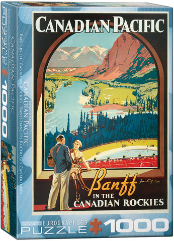Banff in the Canadian Rockies 1000pc