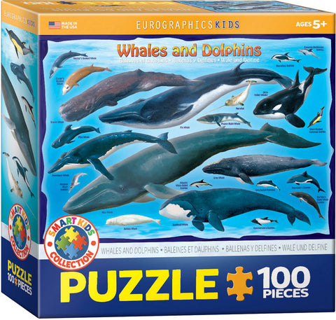 Whales & Dolphins - 100pc