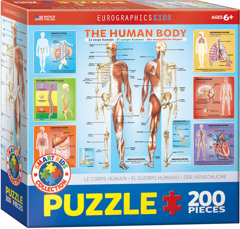 The Human Body - 200pc