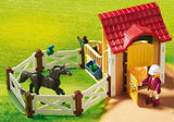 Horse Stable with Arabian