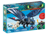 Hiccup and Toothless Playset  with Baby Dragon*New Feb 2019*