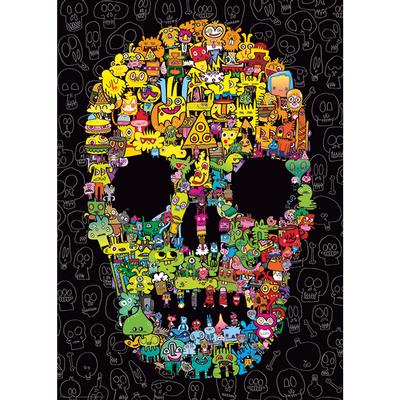 Doodle Skull - 1000pc