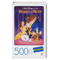Blockbuster: Beauty and the Beast - 500pc Puzzle