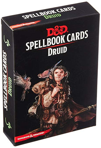 D&D Magic Spellbook Cards: Druid