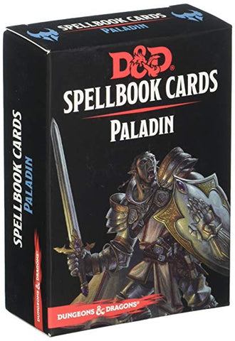 D&D Magic Spellbook Cards: Paladin