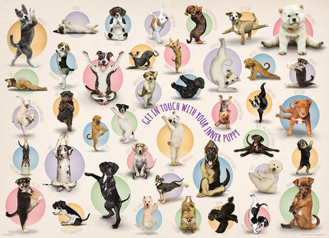 Yoga Puppies -300pc Large