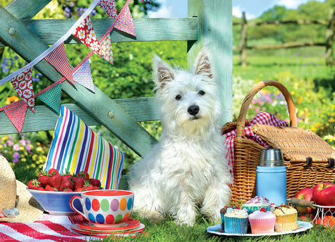 Scottie Dog Picnic - 500pc Large