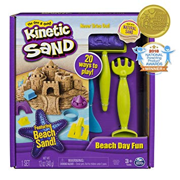 Kinetic Sand Beach Day Fun Kit