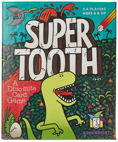 Super Tooth - A Dino mite Card Game