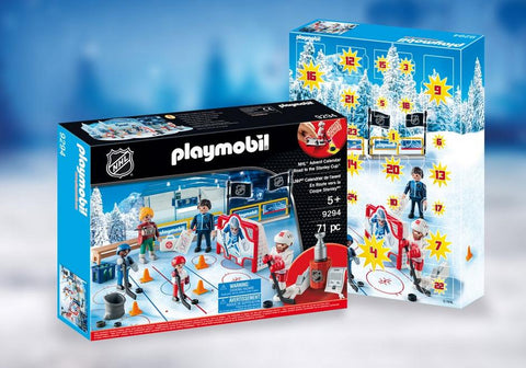 Playmobil Advent Calendar: NHL Road to the Cup
