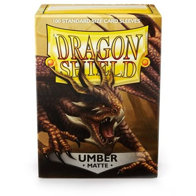Dragon Shield Umber Matte