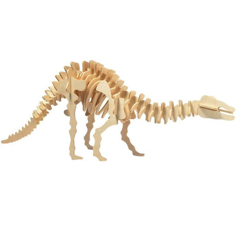 3D Wood Kit Small Apatosauraus