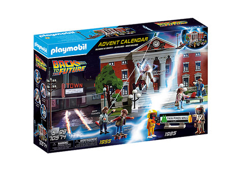 Playmobil Back to the Future Advent Calendar