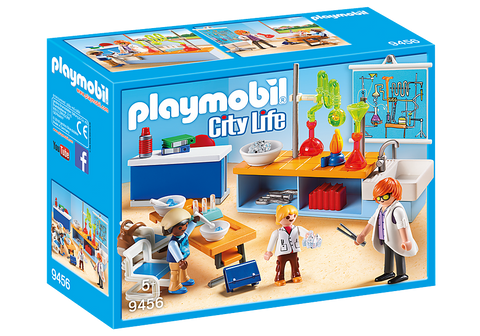 Playmobil Chemistry Lessons