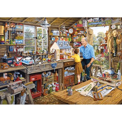 Grandad's Workshop 1000pc
